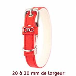 Image de couverture Colliers en Piñatex rouge